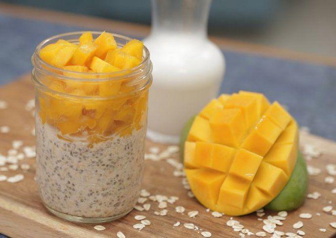 como preparar avena refrigerada para el desayuno | CocinaDelirante
