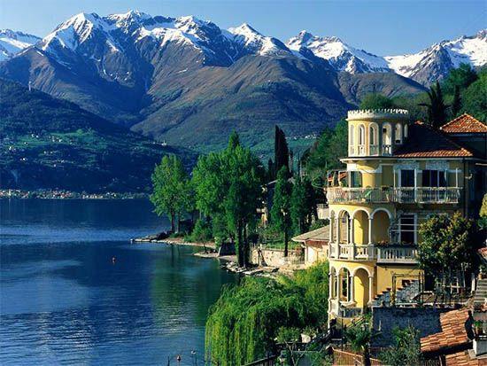 10 προορισμοί για διακοπές Celebrities αγάπη 7Λίμνη Κόμο, Ιταλία