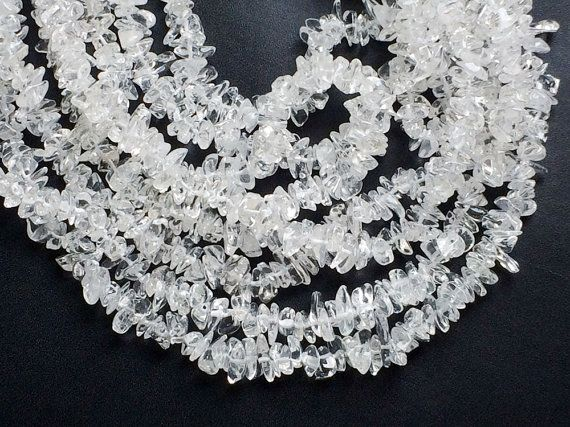 WHOLESALE 5 Strands Crystal Chips Crystal Beads by gemsforjewels