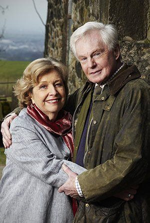 """Last Tango in Halifax  --as things looked to be unraveling-- Alan: """"She reads Daily Mail""""  Gillian: """"How long have you known this?"""""""
