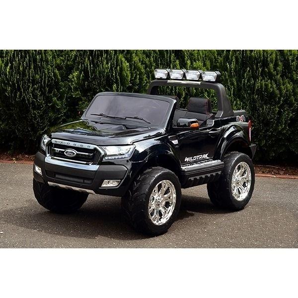 Kids Licensed Ford Ranger Electric Ride On Car Black Ford Ranger