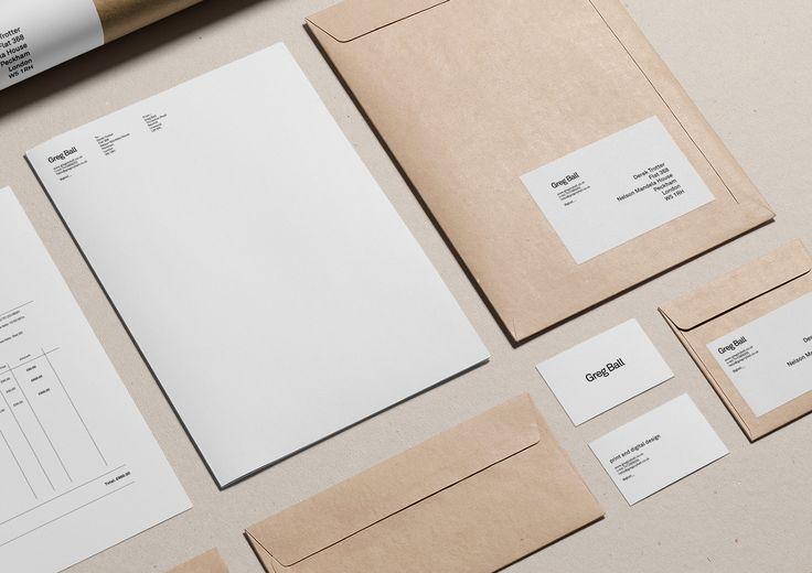 Identity - minimalisme waarbij de middelen en materialen dragend zijn