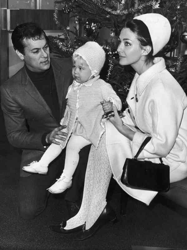 Tony Curtis and Christine Kaufmann | Tony Curtis ...
