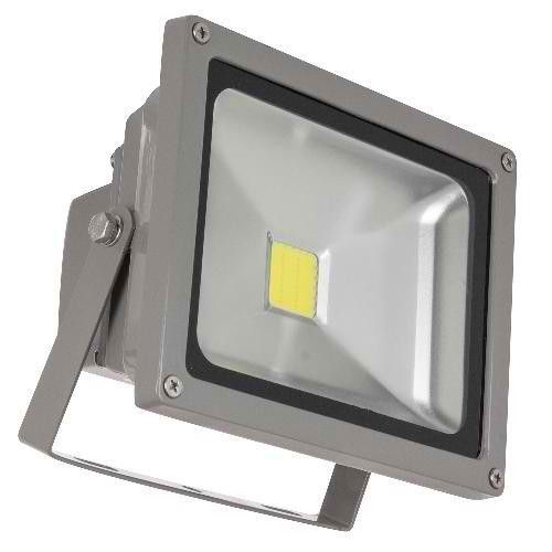 Sunlite 80166-SU 20 Watt LED Outdoor Flood Light, Gray