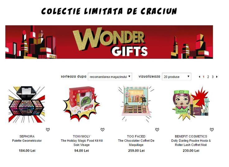 Colectia de Craciun - Wonder Gift Sephora