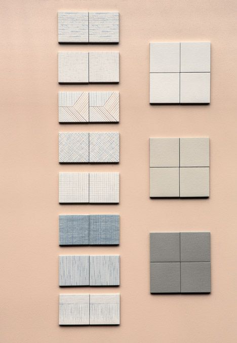 Searching for some great #tile for your #MidCentury Modern #ranch home? Check out this series by Inga Sempé's Parisian design studio is a collection of 8 patterns that all can be mixed together.   |   dezeen.com