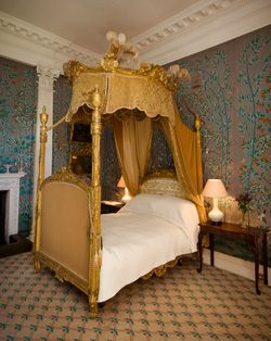 design class how about a four poster canopy bed bedrooms at biddick hall in county durham what do the experts think - Orange Canopy Interior