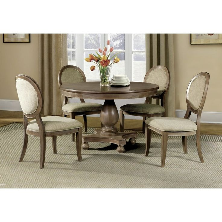 Best 25 transitional dining tables ideas on pinterest beautiful dining rooms formal dining - Elegant rustic dining table set to enhance your dining room ...