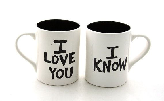 Hey, I found this really awesome Etsy listing at https://www.etsy.com/listing/126908069/i-love-you-i-know-ceramic-mug-set-for