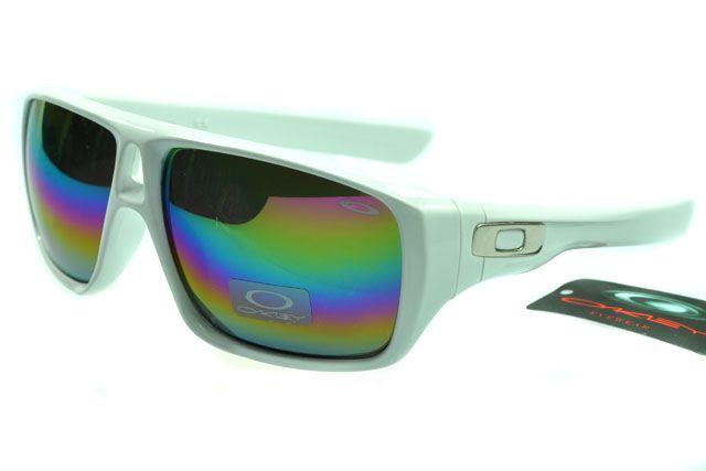 Oakley Active Sunglasses White Frame Rainbow Lens 0034