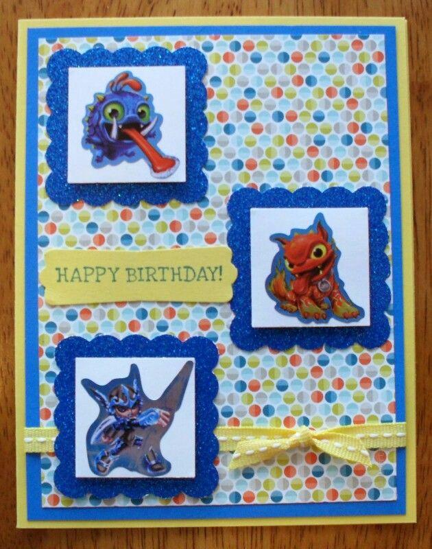 32 best boys birthday cards images on pinterest masculine cards skylanders the limit homemade cardsskylandersbirthday bookmarktalkfo Choice Image