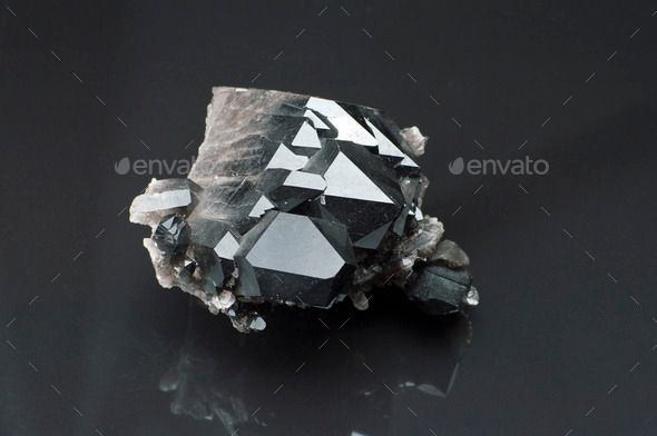 Morion Mineral Black Stone