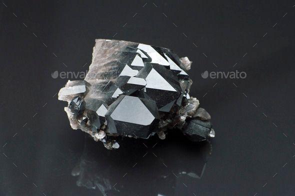 Morion Mineral Black Stone