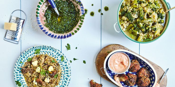 Jasmine and Melissa Hemsley, authors of The Art of Eating Well, share their favorite superfoods and a nutrient-rich recipe to serve this spring.