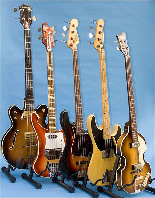 I would rub my body down with boat varnish and go for a tumble in between the sheets with any one of these lovely ladies. Especially the yellow, pre-70's fender precision bass.
