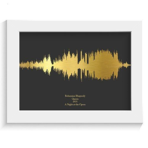Personalised Favourite Song Print - a song that has a special meaning to both of you, bringing back happy memories #valentines  day gifts ideas for him her boyfriend girlfriend