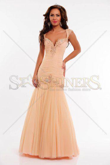 Rochie Sherri Hill 21069 Peach
