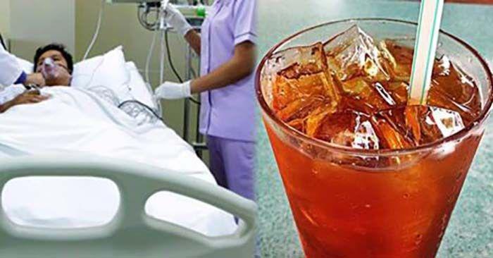 Akibat Kerap Minum Teh O Ais Lelaki Ini Masuk Hospital - #pelik #peringatan - http://www.kenapalah.com/akibat-kerap-minum-teh-o-ais-lelaki-ini-masuk-hospital/
