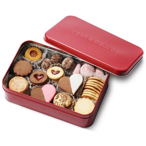 バレンタインクッキー缶