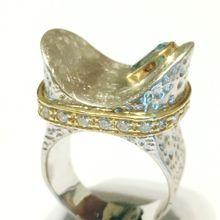 Topaz sterling silver Ring, Sterling Silver Rings, Topaz Jewellery, Egyptian Topaz Ring,Silver rings. Alicia Sarra Jewellery