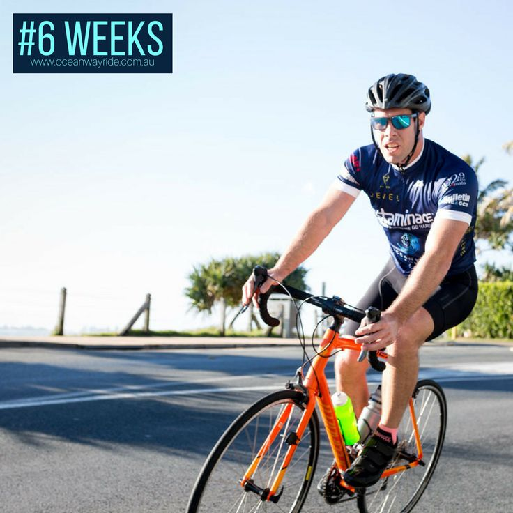 6 weeks to go! Are you as excited as we are? If you haven't already registered for Jewel Residences Oceanway Ride, now is the time!