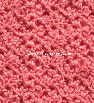 Coral Reef - Crochet Stitch