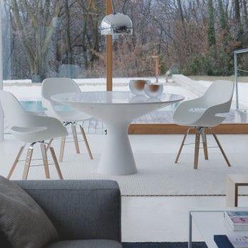 Table design BLANCO - ZANOTTA