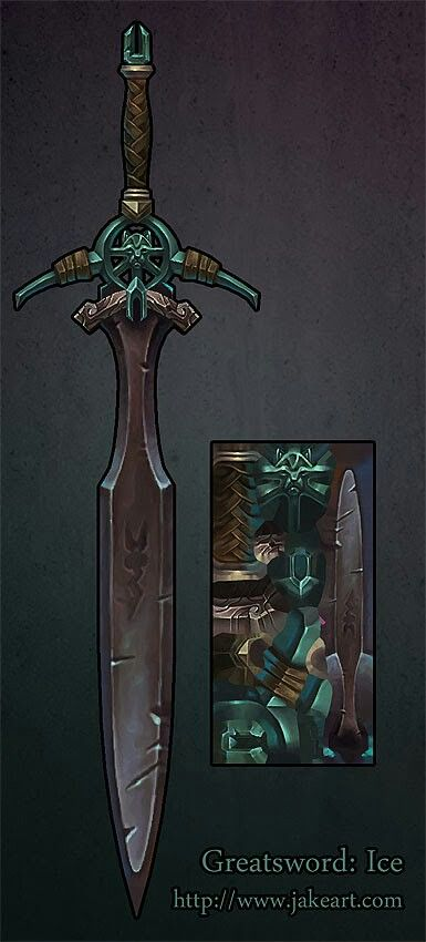 Sword display by Jakeart