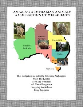 A Collection of Webquests -Amazing Australian Animals