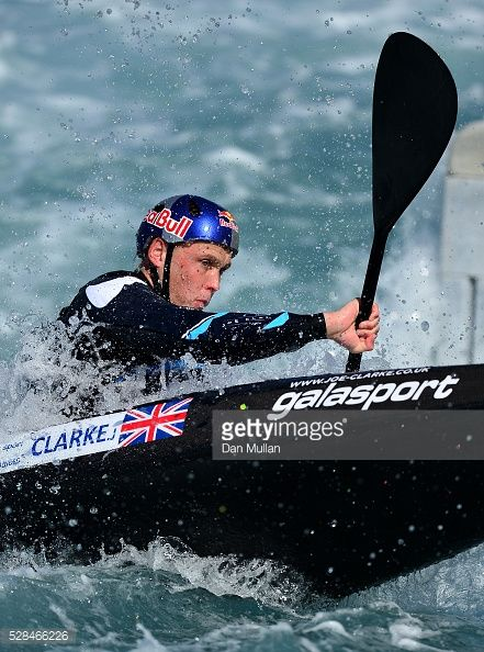 Joe Clarke - Canoeist, K1.