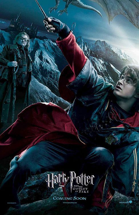Day 13: Least Favorite of the Movies? Harry Potter and the Goblet of Fire. It has some good parts but overall it is disappointing. The Quidditch World Cup was horrible. The trials weren't horrible but the movie didn't flow.