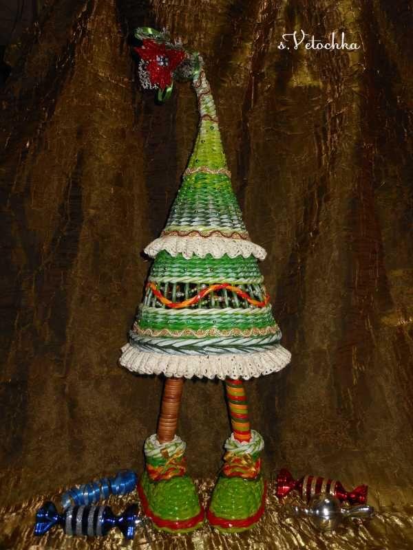Тема: Мастерская Веточки (66/68) - Плетение из газет и другие рукоделия - Плетение из газет
