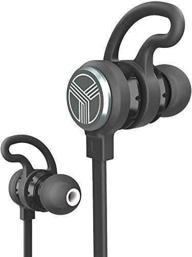 96e25b79726 TREBLAB J1 Bluetooth Earbuds Best Wireless Headphones For Sports Gym Running  2017 Upgraded IPX6 Waterproof Sweatproof Magnetic SecureFit Headset Noise  ...
