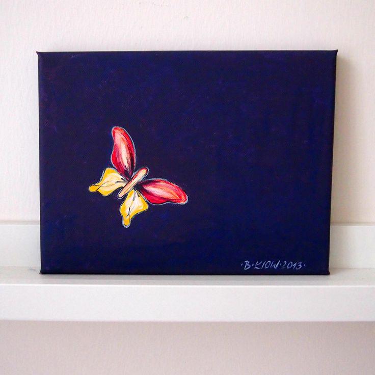 barevný motýlek   Ateliér B. KIOW