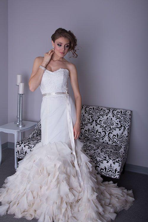 Angel Rivera - Maddison. Available at Bridal Reflections.