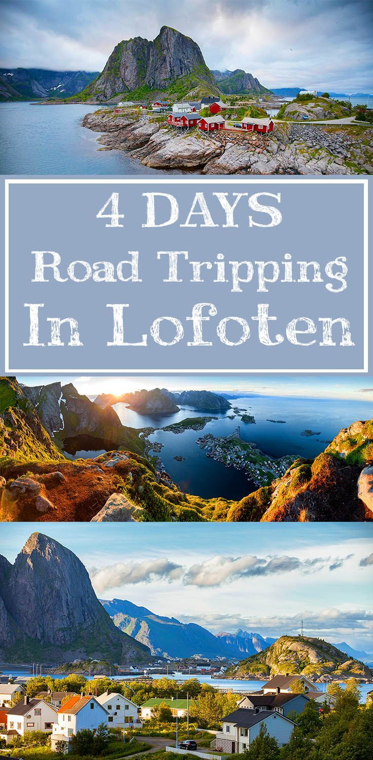 Find out how to prepare for, and what to do during, a 4 day road trip itinerary in Norway's stunning Lofoten Islands!  #lofoten #norway #roadtrip #travel #adventuretravel
