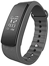 Fitness-armband Lintelek Fitness Tracker IP67 wasserdichte Bluetooth 4._.0 Fitnessarmband, Smart-Activity-Band Health Schlaf-Monitor Pedometer Kalorie / Schrittzähler für Android und IOS …