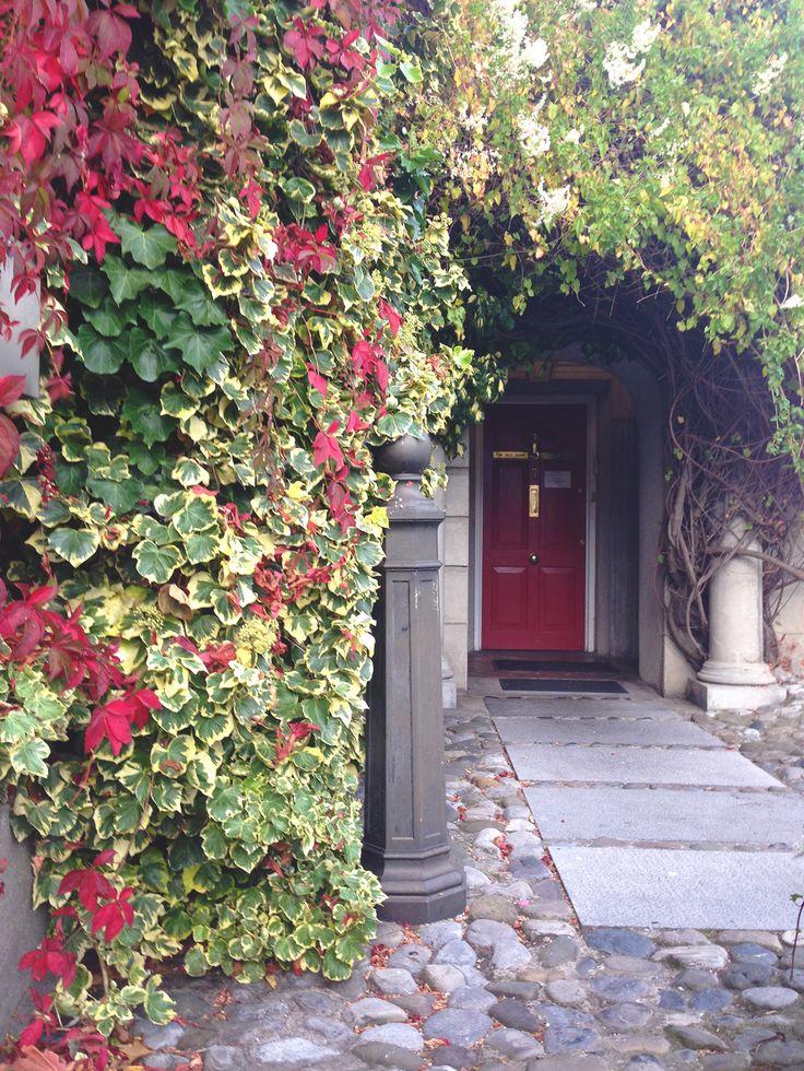 Door to an inn in Skerries, Dublin Co., Ireland. Amazing town.