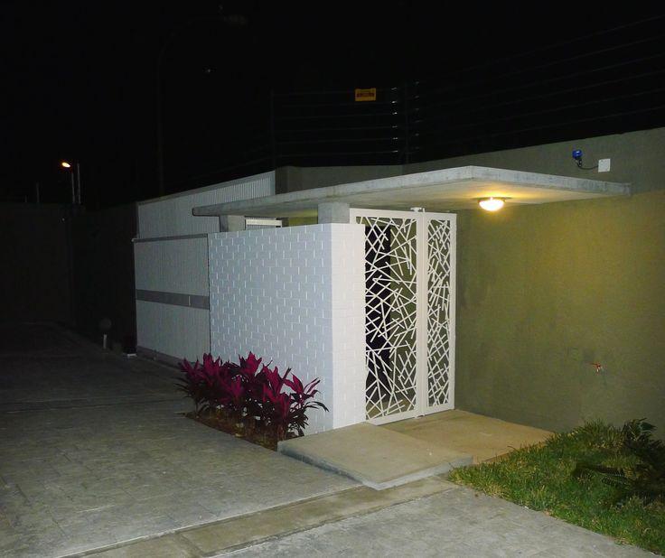 Villa Serrana de noche