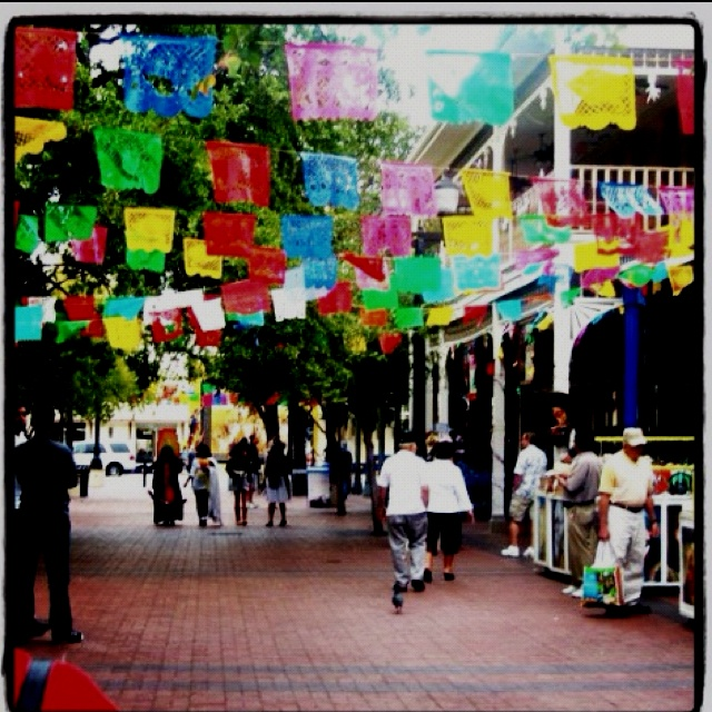 Market place (El Mercado), San Antonio. I could go for some La Margarita or Mi Tierra Cafe right about now.