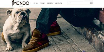 Página web MCNDO Sohoes