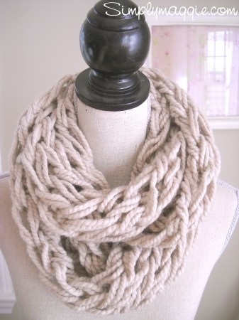 I checked out Taupe Infinity Scarf on Lish, $22.00 USD