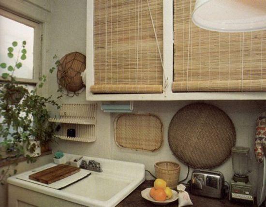 straw kitchen