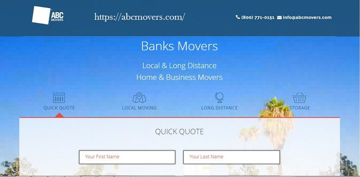 ABC movers help you in case you're moving inside your neighborhood even around your state. You can trust over ABC movers for the majority of your intrastate moving needs. For more data call us at 800-771-0151 or visit our site https://abcmovers.com/.
