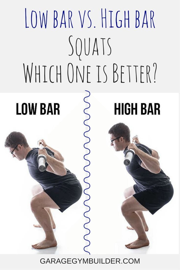 e814fb7d6fb63d When it comes to making the distinction between low bar vs. high bar squats