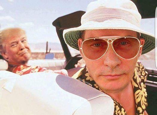 Bild könnte enthalten: 2 Personen, Sonnenbrille und Hut