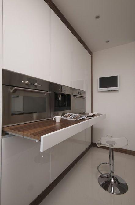 Panel apartment renovation by Viktor Csap, via Behance