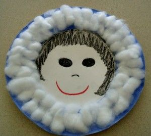 "Cute Inuit craft to do after reading the book ""Mama Do You Love Me?"""