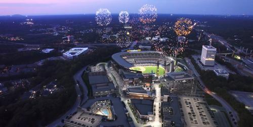 Atlanta Braves plan a zip line across forthcoming SunTrust Park stadium