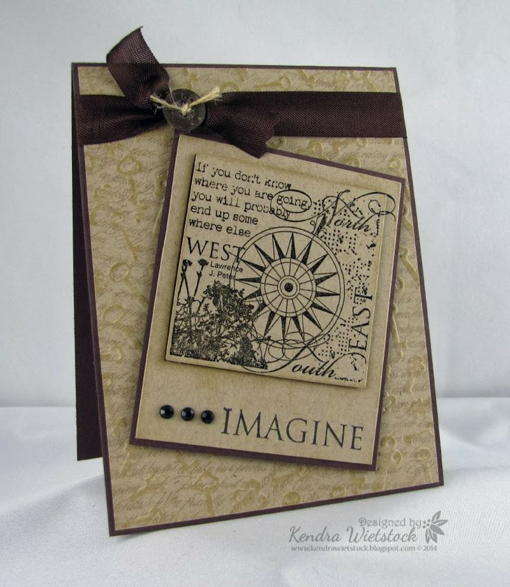 Kendra's Card Company: Crafter's Companion Challenge and new Embossalicious Folders